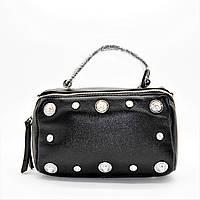 Эксклюзивная Итальянская женская кожаная сумочка в руку GMН-013920, фото 1
