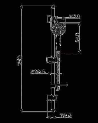 Душевой набор Imprese Vaclav, фото 2