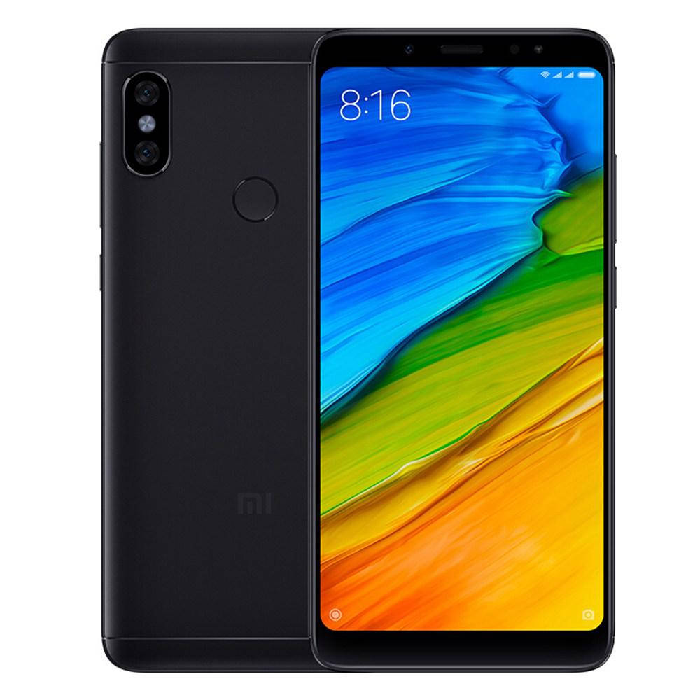 Смартфон Xiaomi Redmi Note 5 3/32gb Black Qualcomm Snapdragon 636 4000 мАч