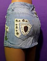 Юбка короткая джинсовая молодежная, юбка красивая нарядная, юбка для девочек