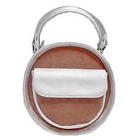 0212NOL Жемчужно-Розовый Сумка женская круглая