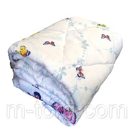 Ковдра двоспальне силікон, тканина полікотон, фото 2