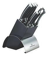 Набор ножей 8 шт с  подставкой Herenthal HT-MSF3B-16007