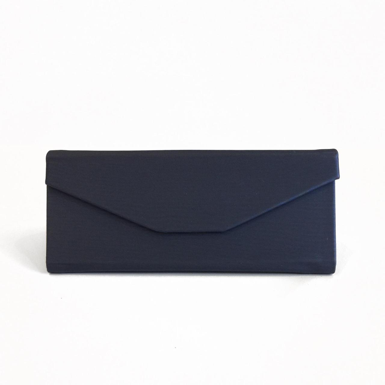 Синий тканевый смарт чехол для солнцезащитных очков