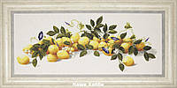"""Набор для вышивания крестом М-300 """"Лимоны"""""""