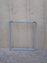 Опора металева для столу пряма