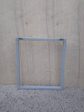 Опора металлическая для стола прямая