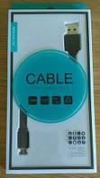 MicroUsb кабель Nillkin, 5v 2.0A, 100% оригінал. Чорний