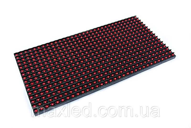 LED дисплей P10RS 16X32 модуль красный для использования в помещениях