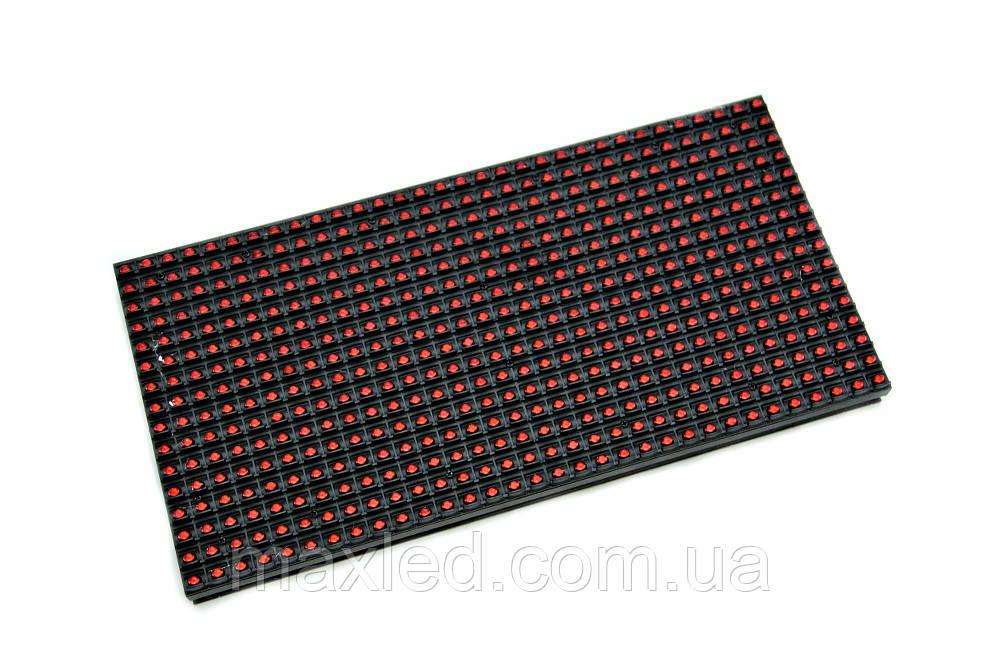 LED дисплей P10RO 16X32 модуль красный для уличного использования