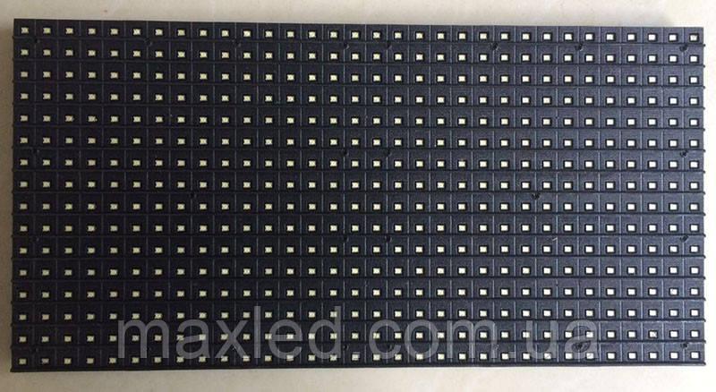 LED дисплей P10WO 16X32 модуль белый для уличного использования (SMD)