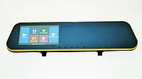 DVR 303TP Full HD 2 камеры видеоегистратор зеркало сенсор