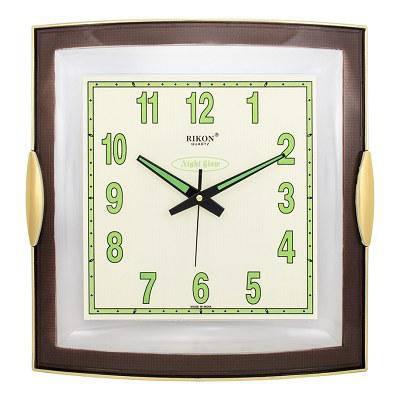 Часы настенные Rikon 10851 NG Brown, фото 2