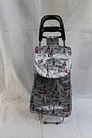 Хозяйственная сумка-тележка на колесах Париж
