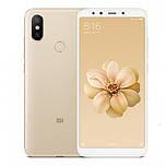 Смартфон Xiaomi Mi6X Gold 6/64gb Snapdragon 660 3010 мАч