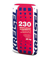 230 Клей для плит из минеральной ваты MINERALWOLLE-KLEBEMÖRTEL 230 Крайзель (Kreisel) 25 кг