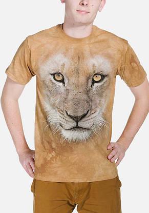 3D футболка для мальчика The Mountain р.XL 13-15 лет футболки детские с 3д принтом рисунком (Молодой Лев), фото 2