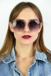 Cолнцезащитные женские очки градиент черные