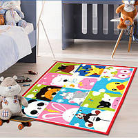 Коврик для детской комнаты Cartoon Animals 100 х 130 см Berni