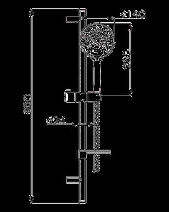 Душевой набор Imprese Netka , фото 2