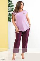 Женские стильные капри, Мода плюс, фото 1