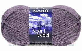 Пряжа для ручного вязания NAKO Sport Wool