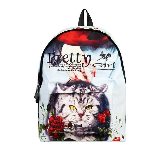 Городской рюкзак с Котом
