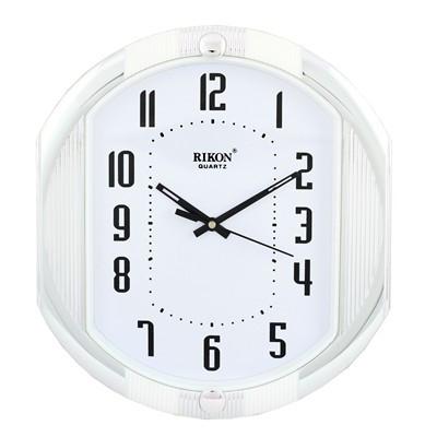 Часы настенные Rikon 12451 White