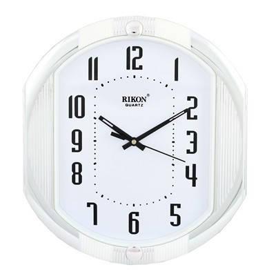 Часы настенные Rikon 12451 White, фото 2