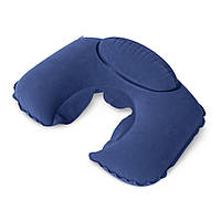 Подушка-подголовник Кемпинг Dream, синяя