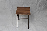 Табурет кухонный с деревянным сиденьем