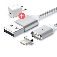 Магнитная зарядка, магнитный кабель, магнитный кабель на Apple iOS, Lightning USB