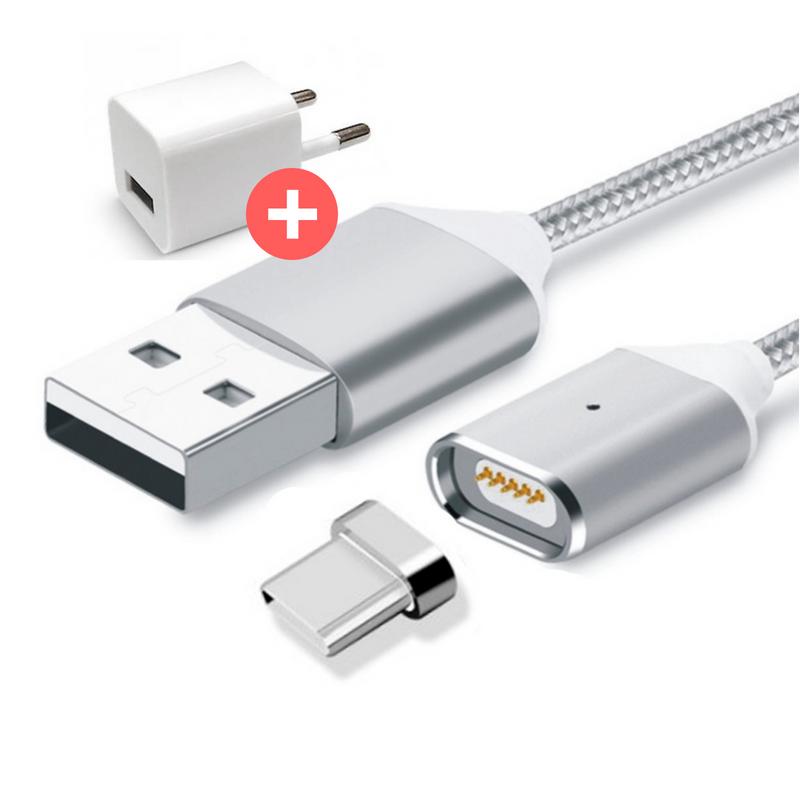 Магнитная зарядка, магнитный кабель, магнитный кабель на Android usb type-c