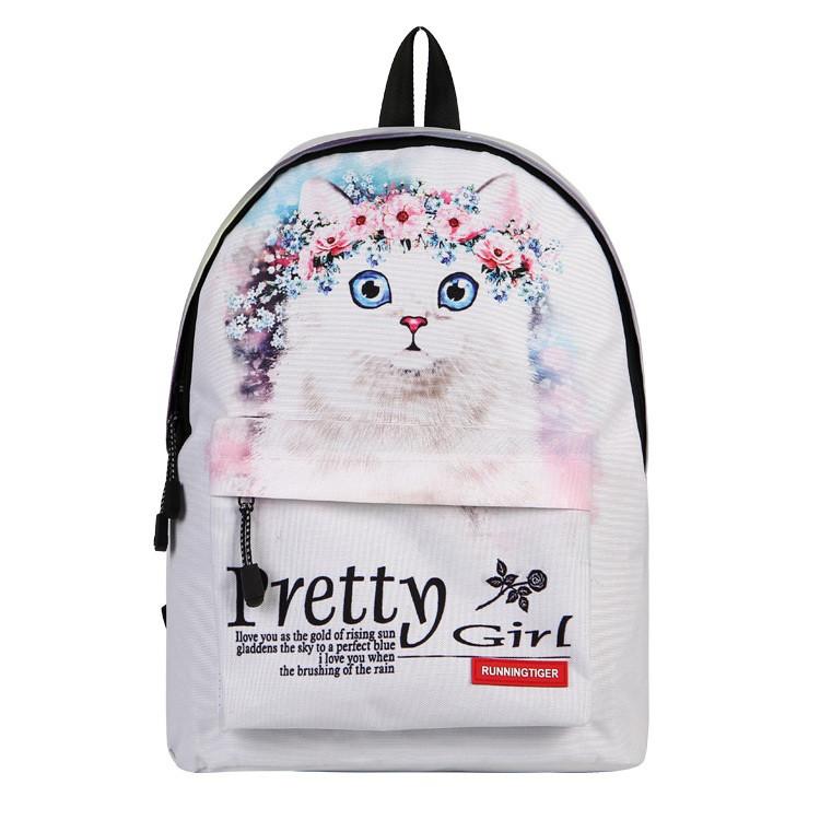 Молодежный рюкзак с Котом