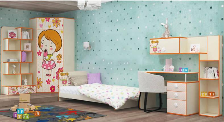 детская комната мандаринка бесплатная доставка в киеве и по украине