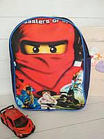 Детский рюкзак для мальчика с героями мультфильма Ninjago, фото 1