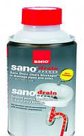 Средство для прочистки канализационных труб Sano Drain 200г