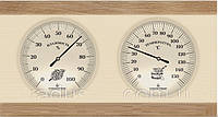 Термометр Гигрометр для сауны, для бани ТГС 4 горизонтальный
