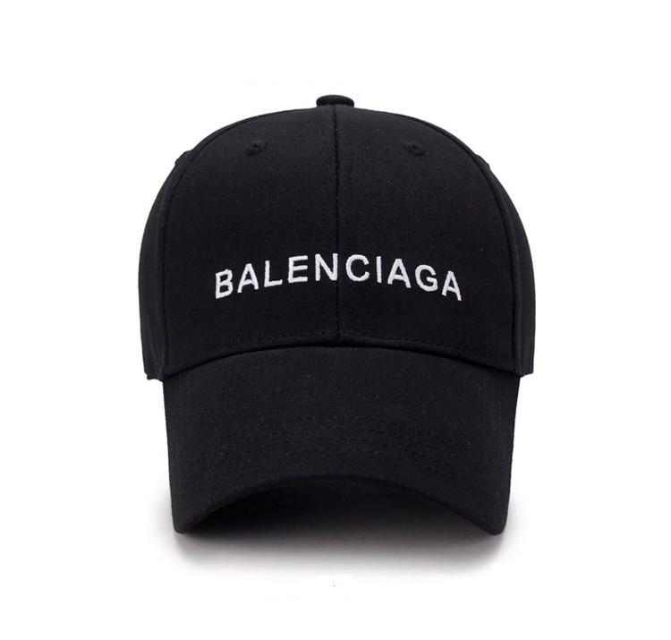 Чёрная кепка Balenciaga (Баленсиага) мужская женская