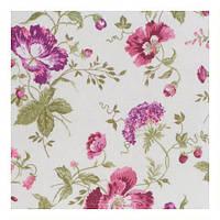 Ткань Цветок фиолетовый 110330 v 23