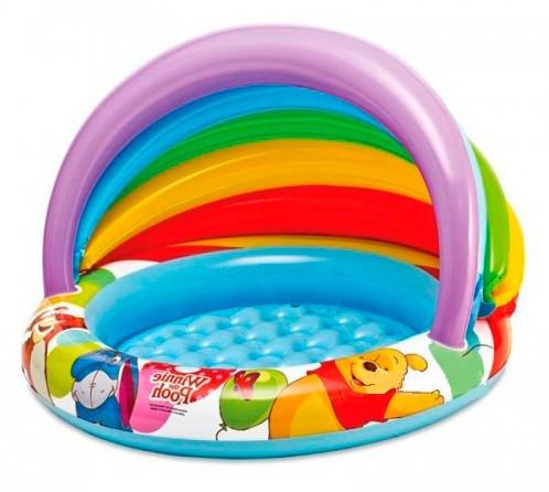 Детский надувной бассейн Intex 57424 с навесом