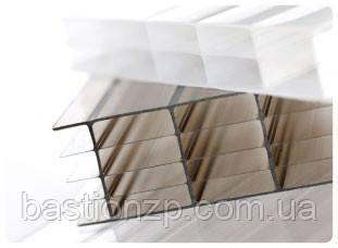 Поликарбонат сотовый толщина 16 мм, размер 6000х2100 мм