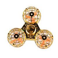 Спиннер BONITOYS Upgrade Metallic летающая игрушка-антистресс Золотистый (SUN0591)
