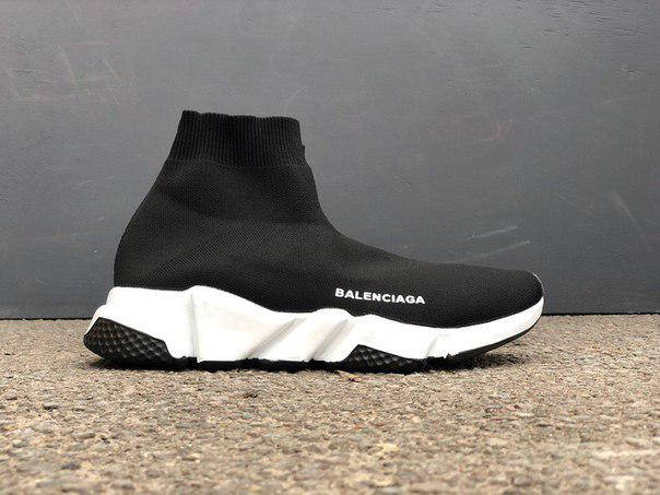 ÐенÑкие кÑоÑÑовки Balenciaga Speed Trainer Black, ÑоÑо 3