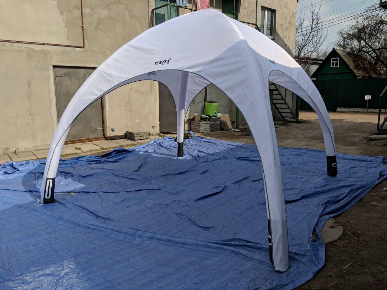 Надувные палатки и шатры.