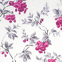 Ткань Цветы фиолетовые 110733 v 8