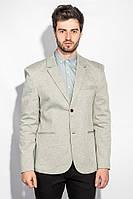 Пиджак мужской классическая модель 197F027-3 (Светло-серый)