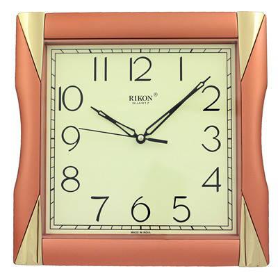 Часы настенные Rikon 6451 MS Copper, фото 2