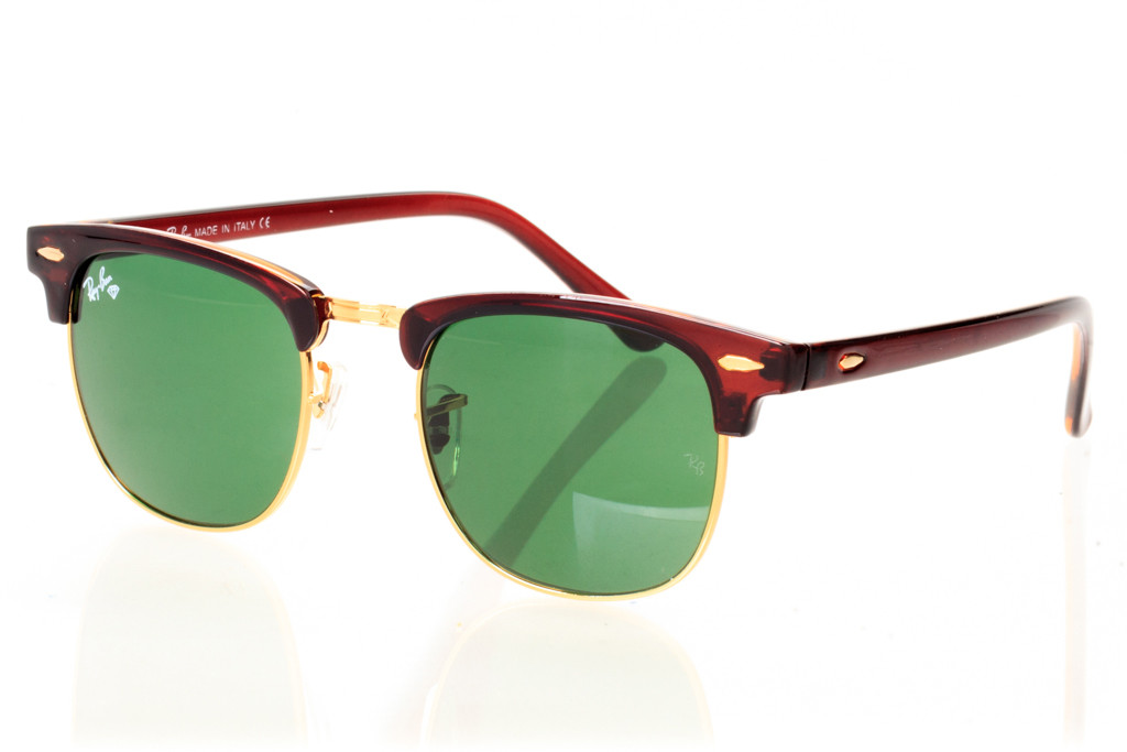 Солнцезащитные Очки Ray Ban Clubmaster - Модель 3016D-brown-g — в Категории