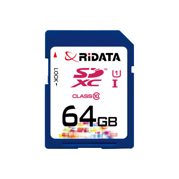 Карта памяти RiDATA SDXC 64GB Class 10 UHS-I